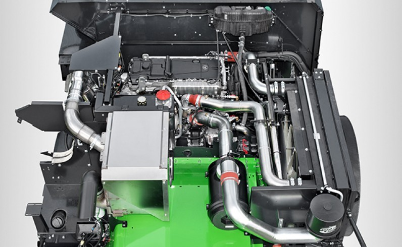 DEUTZ-FAHT Kombajn C9000 - polmozbyt grójec - ciągniki sadownicze