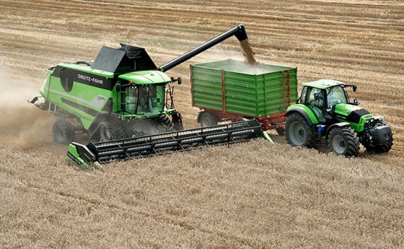 DEUTZ-FAHT Kombajn C9000 - polmozbyt grójec - maszyny rolnicze