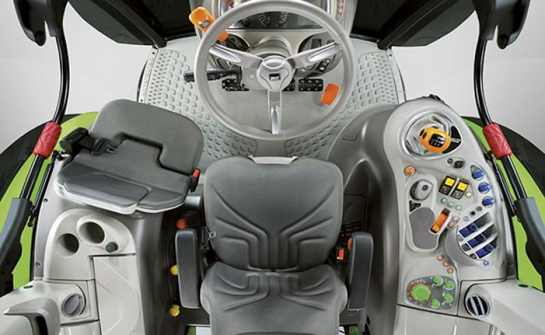 Seria 5 TTV slider - kabina